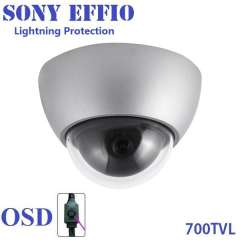 Special new !! video surveillance sony effio camera 1\3' sony super had cctv ccd color camera 700 TVL
