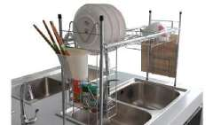 New Bridge storage rack / multi-purpose kitchen shelf placement | Sink Storage Rack | solid steel