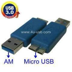 USB 3.0 AM to Micro-USB Adapter