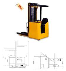 WT1216 Electric Stacker