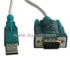 USB to RS232 Cable, With One IC