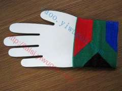 South African flag pattern knit cuff The Republic of South Africa cuff fashion knit wrist
