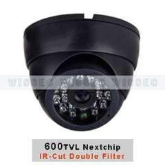 600TVL Nextchip Sony CCD IR-Cut Double Filter IR Dome Camera