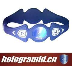 Silicone inspirational energy bracelets for promotion