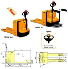TE20S AC Power Pallet Truck