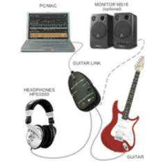 Guitar to USB Interface Link Cable PC\MAC Recording