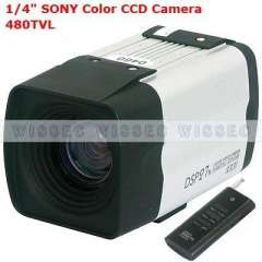700TVL Horizontal Resolution, 27X Auto Focus CCTV Security Wired Color CCD Surveillance Camera