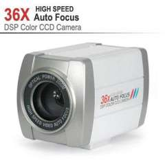 CCTV 650TVL 1\4 inch SONY CCD 36X Optical Zoom DSP Color Video Camera Auto Focus, 36X High Speed Auto Focus DSP, free shipping!