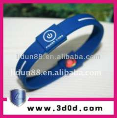 2012 Frequency energy silicone rubber bracelet, silicone wristband