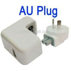 AU Plug USB Charger for iPad, iPhone 3G\3GS
