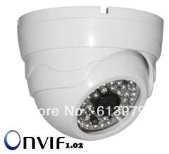 HD 720P 1280 x 720 Resolution IP Network CCTV Cameras Support iPhone\iPad\Android Mobile