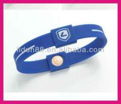 Model 108 New Brand Lidun Hot Sell Silicone Personalized Bracelet\health silicon ion bracelet
