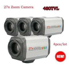 Security CCTV 27 Multiple Optical Zoom SONY CCD 480TVL Day&Night\RS485, 4PCS\lot