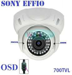 700tvl outdoor dome camera with varifocal lens for installation new design and free shipping !
