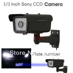 Security 1\3 inch Sony CCD 9-22mm Lens 700 TVL IR Plate Number Camera