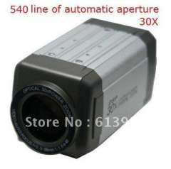 Security CCTV CCD 540TV Line 30X Optical Zoom 3.0-90mm Lens OSD Menu Box Camera Motion Detection