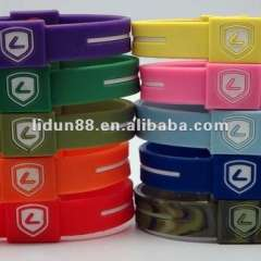 2012 Wholesale USA Popular Energy Silicone Holograms Wristbands