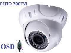 cctv DIY system affortable qualiy 700tvl outdoor dome camera with varifocal lens for installation new design