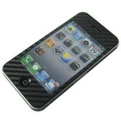 Full Body Skin Carbon Sticker for iPhone 4