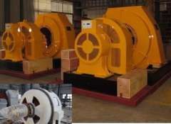 High Efficiency Horizontal Type Generator\Generator for Hydroelectric Power Plant