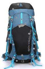 CAMEL outdoor climbing backpack 45L with rain cover
