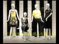 Guangzhou show props mannequins | female body has a head female model | Human window display | bright white