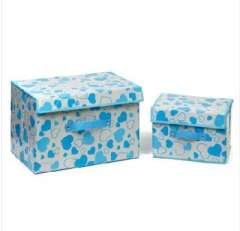 Soulmate series | Storage box piece | storage box piece suit | blue small love