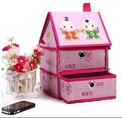 Chess Babe chess margin of Chu | small house storage cabinets | pink