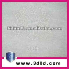 cotton paper, 70% cotton paper with security thread & custom watermark