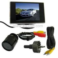 3.5 inch TFT Monitor Car Rear view System with Camera Video Car Parking Sensor
