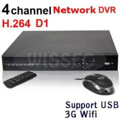 4CH channel Full D1 120fps realtime standalone network CCTV DVR support 3G WIFI function