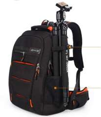Carrell professional anti- theft SLR photography large capacity backpack