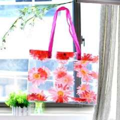 Fashion printed PVC Shopping Bag | random colors