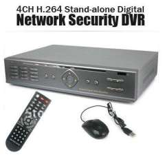 CCTV 4CH H.264 D1 Real-time Recording Stand-alone Digital Network Security DVR