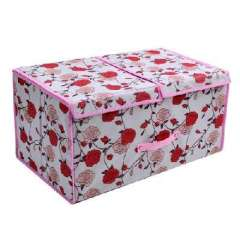 Rose double-covered sweater storage box | Random colors