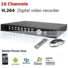 16CH Video&Audio H.264 CCTV Network DVR Security System Support Spot Video Out