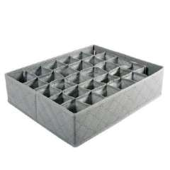 Charcoal 30 grid storage box without cover