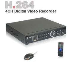 Security HDMI 4CH H.264 120FPS StandAlone Network CCTV DVR VGA Mobile Phone Monitoring