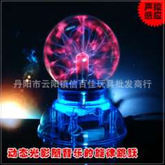 GUC Gifts | Sound USB | electronic magic lamp | 3 inches | Touch colorful magic lamp | electrostatic induction ball magic