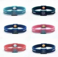 2012 silicone good energy for promotional gift wristbands