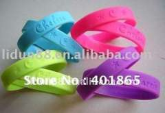Glow-in-dark wholesale silicone wrap around health bracelets\Greece Energy Silicone Health Wristbands paypal