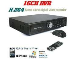 Security CCTV 16CH H.264 Standalone surveillance Digital Network DVR Mobile monitoring 16CH audio inputs
