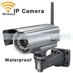CCTV 1\5 Color CMOS 3.6mm Lens 24 Leds Night Vision Outdoor Wifi Wireless IP Network IR Camera