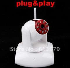 Free Shipping Wireless WiFi UPnP IP Camera CMOS CCTV Security System PT