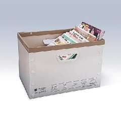 Plain times yield no cover underwear storage box series (3322-D)