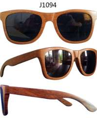 Craft wood frame glasses