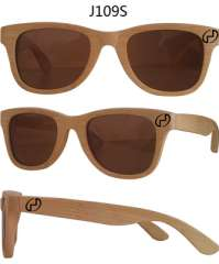Your fashion handmade bamboo glasses hand-made hand-made wooden logs wooden wood wood sunglasses