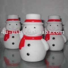 Christmas Gift Snowman Decoration Light