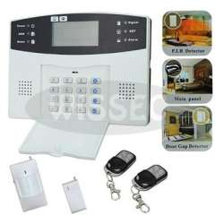 106 Zones Tri-band GSM LCD Voice Operate Wireless Intelligent GSM Burglar Home Security Alarm System Auto-Dial