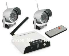 2.4ghz wireless camera and receiver surveillance system